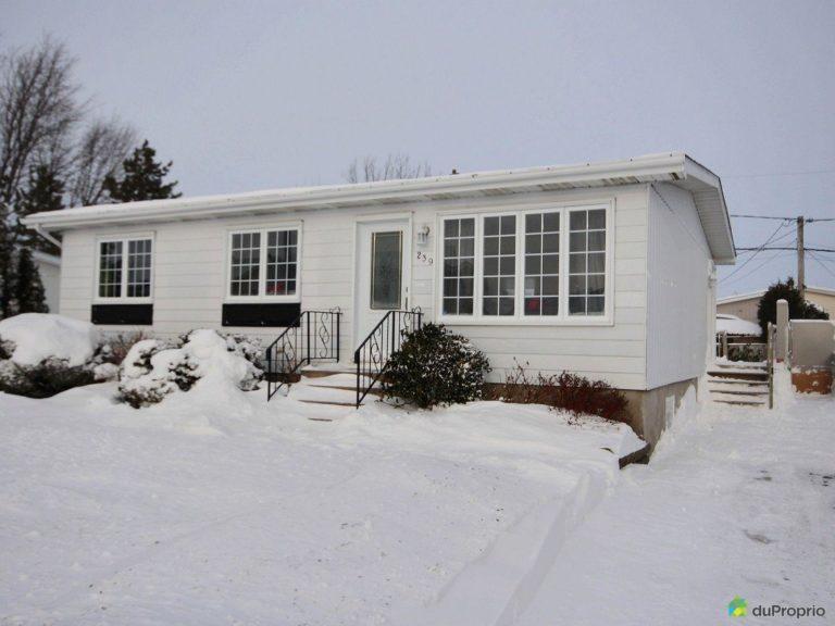 Maison adaptée à vendre à St-Jean-sur-le Richelieu